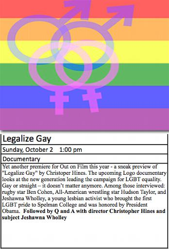 �legalize gay�� a new documentary by christopher hines