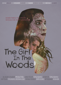 the girl in the woods poster