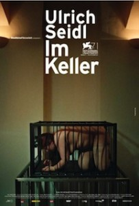 in the basement german poster
