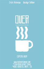 over coffee poster