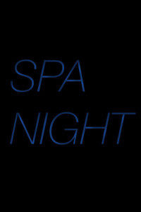 spa night maybe poster